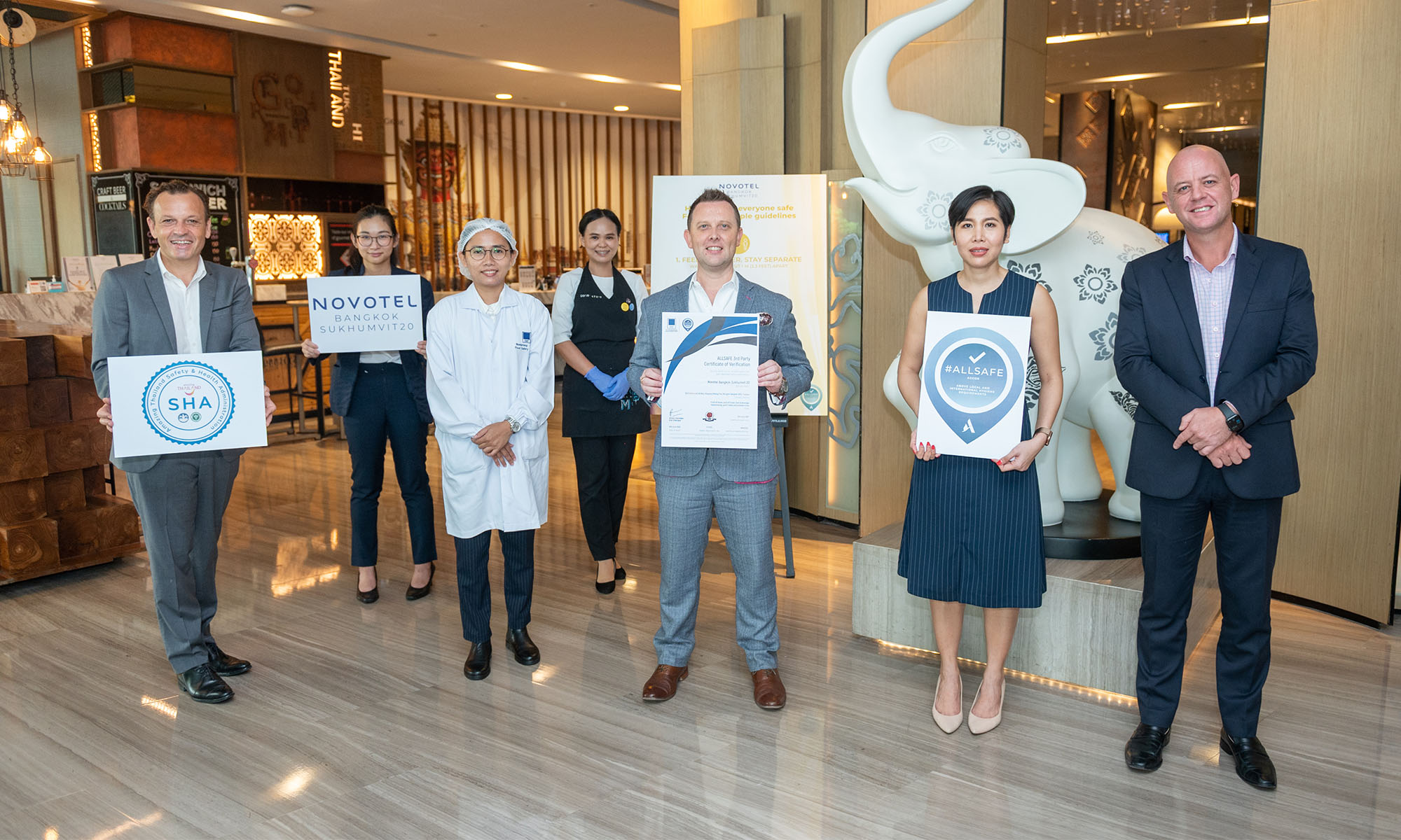 Novotel Bangkok Sukhumvit 20 achieves ALLSAFE label