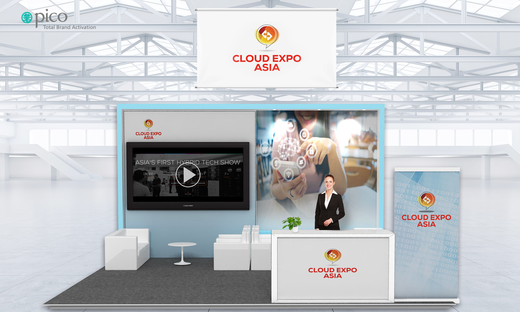 Pico to virtualise Cloud Expo Asia