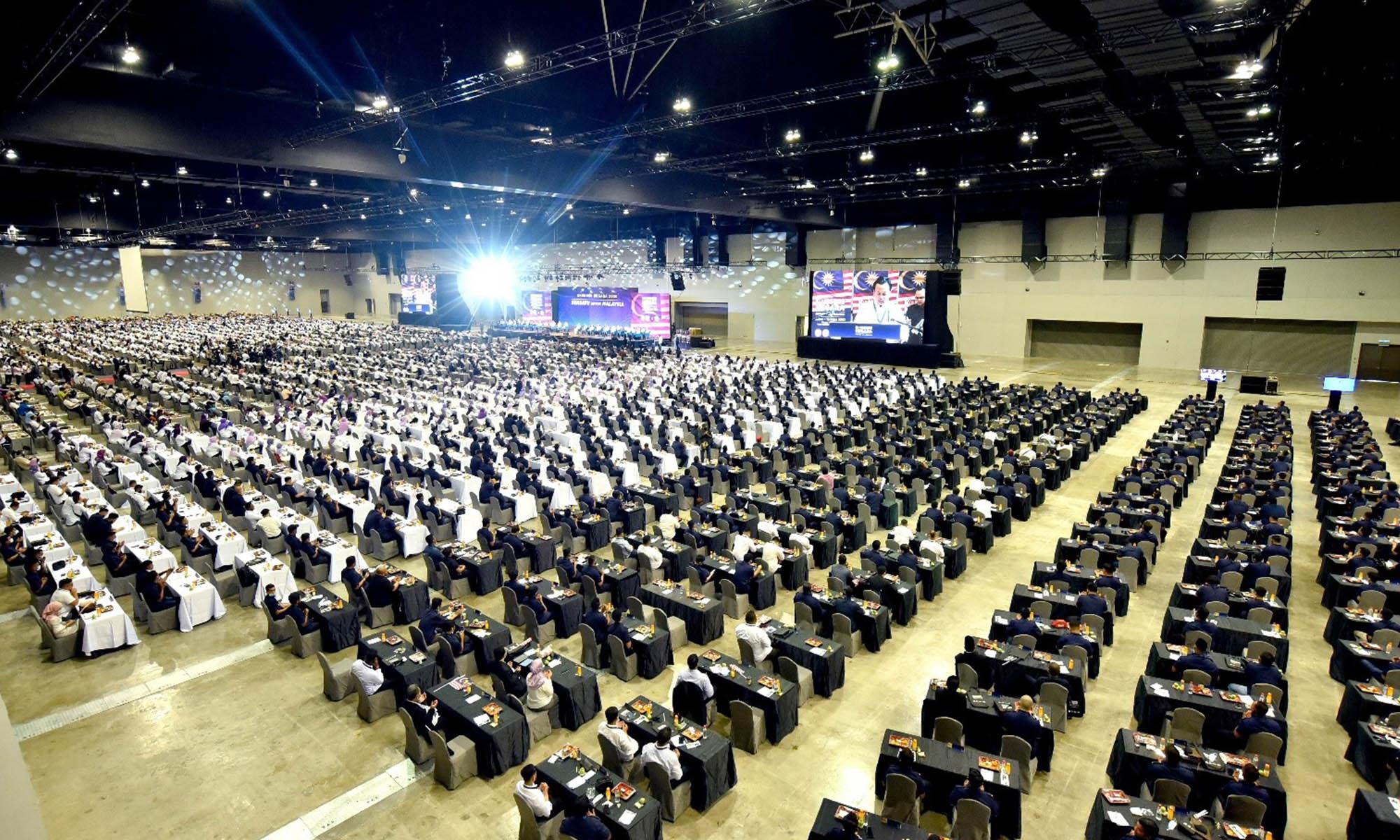 MITEC runs 4,500-pax business event in Kuala Lumpur
