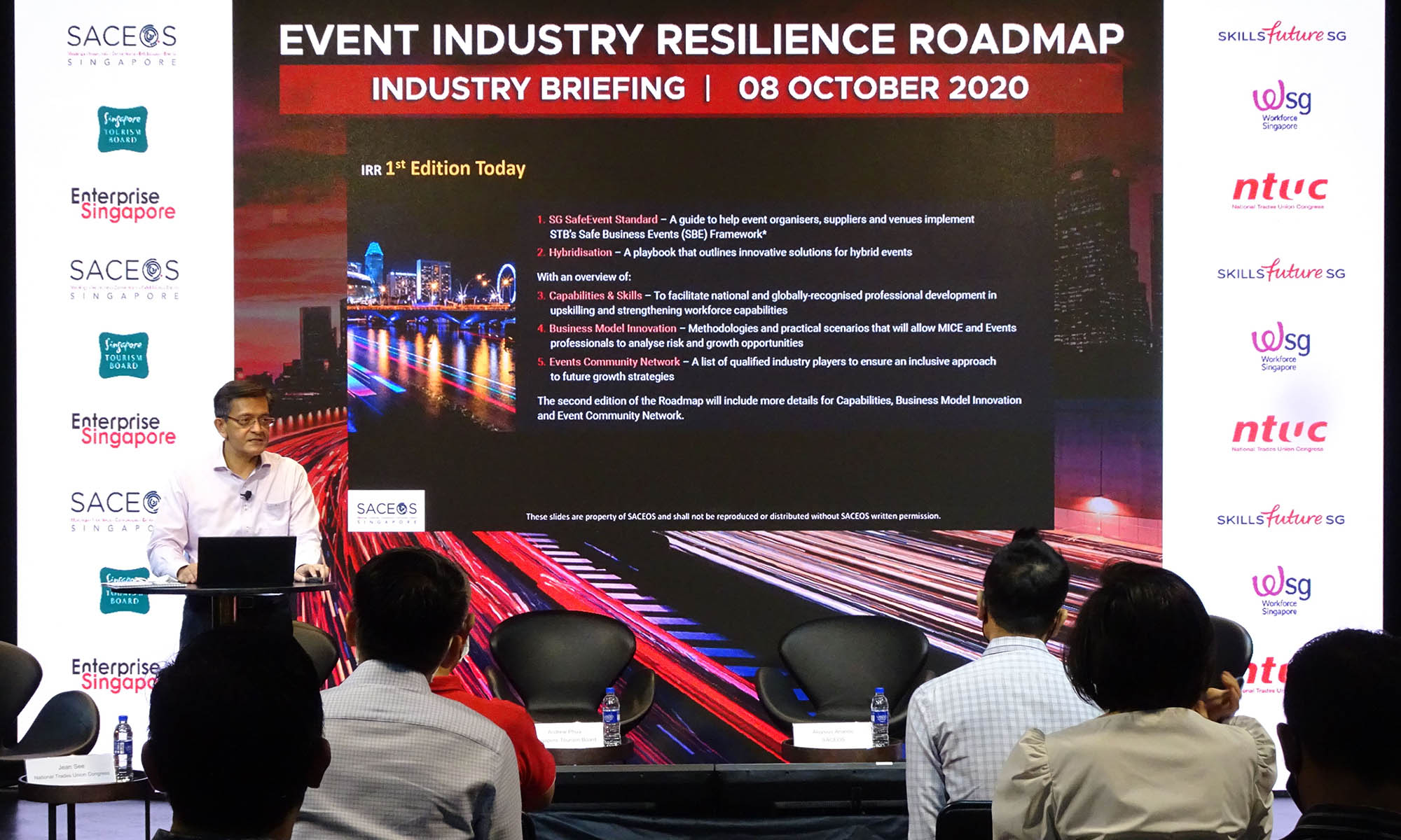 SACEOS announces new Event Industry Resilience Roadmap