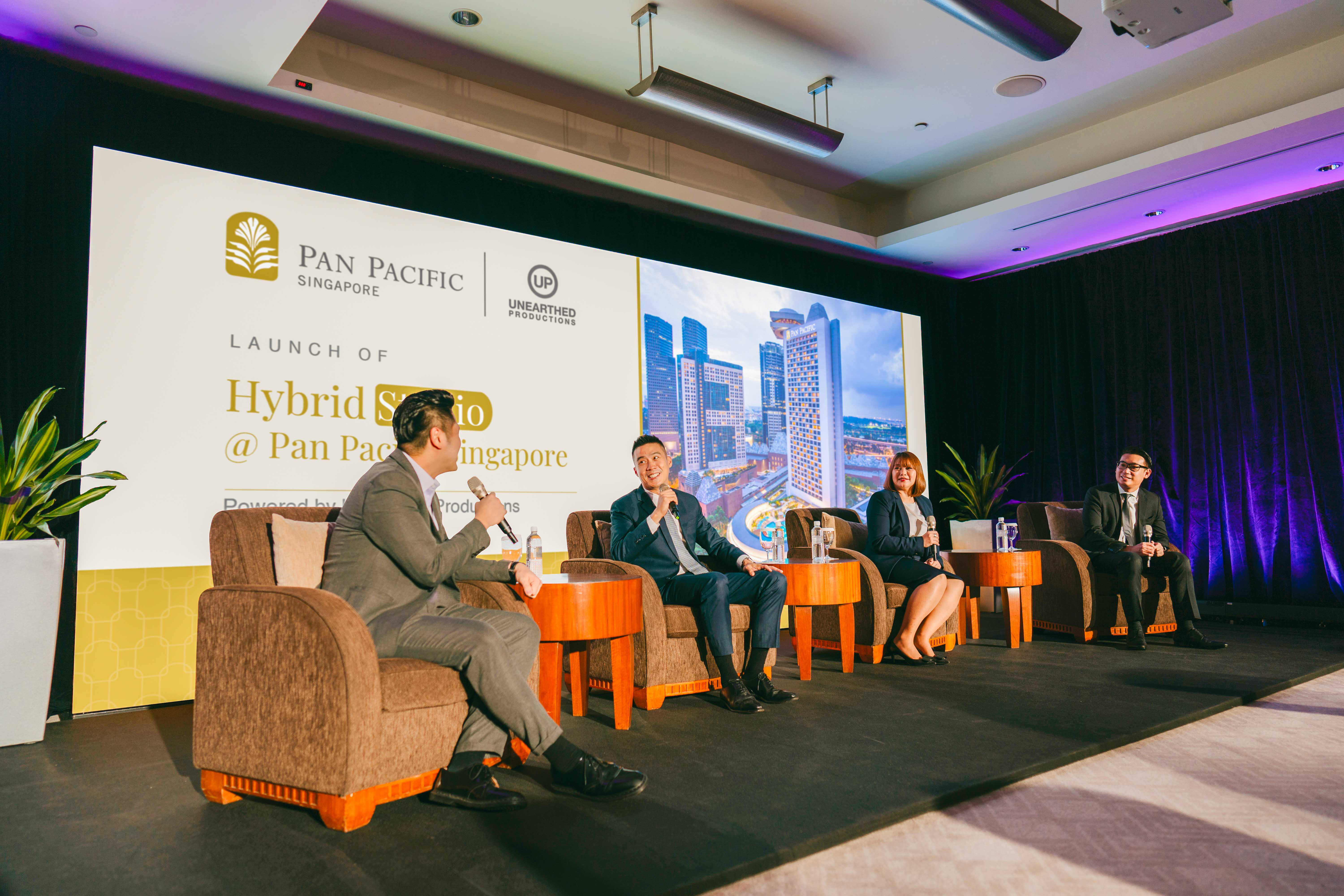Hybrid Studio at Pan Pacific Singapore launched to elevate hybrid event experiences